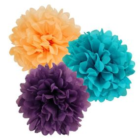 Clearance Tissue Paper Pom Poms