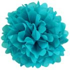 CLEARANCE Tissue Pom 15in Peacock