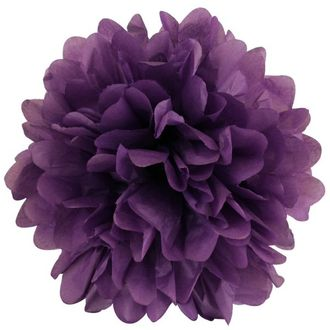 CLEARANCE Tissue Pom 20in Petunia