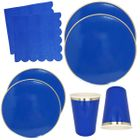 Cobalt Blue Tableware Kit 44pcs - Premier