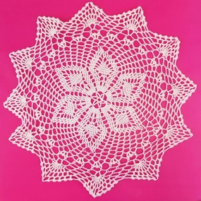 Cotton Lace Crocheted Doilies