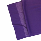 CLEARANCE Cotton Viole Table Runner Aubergine Purple