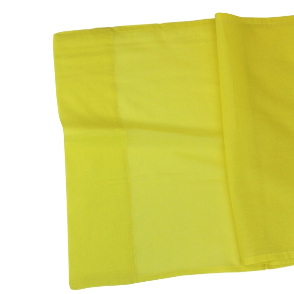 CLEARANCE Cotton Viole Table Runner Buttercup Yellow