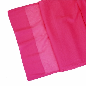 CLEARANCE Cotton Viole Table Runner Fuchsia Pink