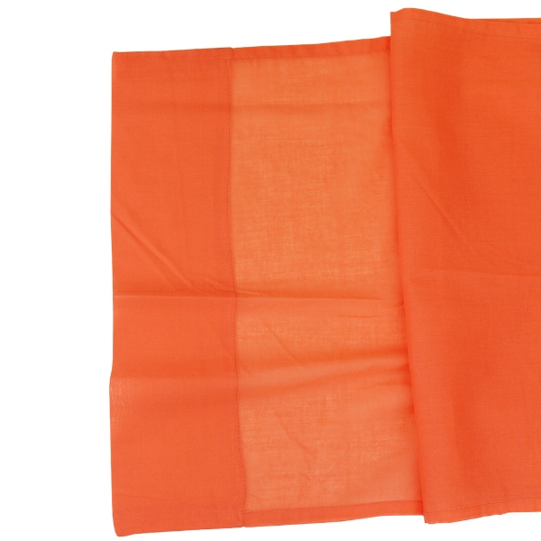 CLEARANCE Cotton Viole Table Runner Mango Orange