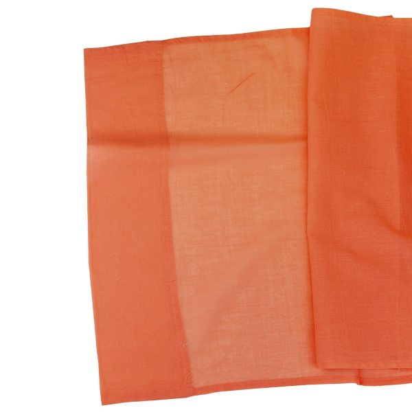 CLEARANCE Cotton Viole Table Runner Peach