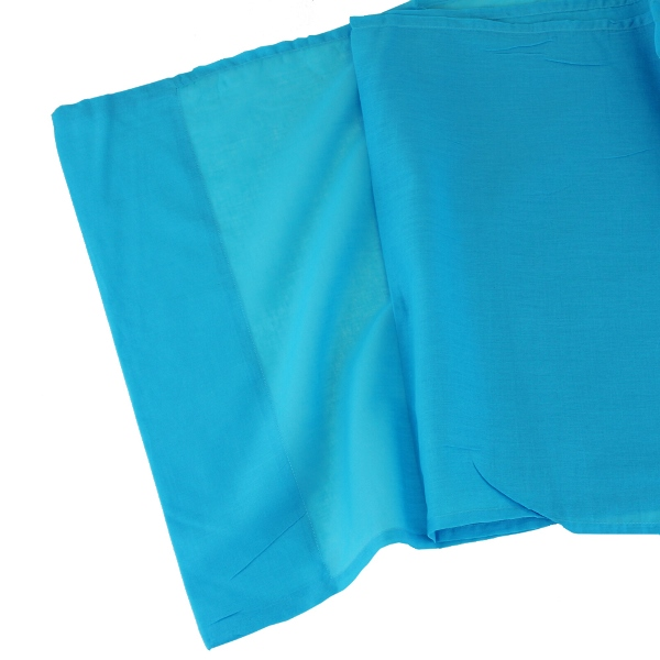 CLEARANCE Cotton Viole Table Runner Something Blue