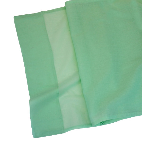 CLEARANCE Cotton Viole Table Runner Spa Green