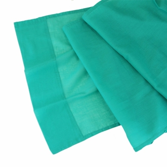 CLEARANCE Cotton Viole Table Runner Teal