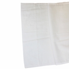 Cotton Viole Table Runner White