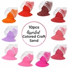 Craft and Terrarium Decorative Assorted Colored Sand (10lbs, Shades of Pinks) - Premier