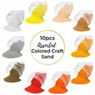 Craft and Terrarium Decorative Assorted Colored Sand (10lbs, Shades of Yellow) - Premier