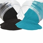 Craft and Terrarium Decorative Assorted Colored Sand (2lb, Black & Teal) - Premier