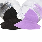 Craft and Terrarium Decorative Assorted Colored Sand (2lb, Lilac & Black) - Premier
