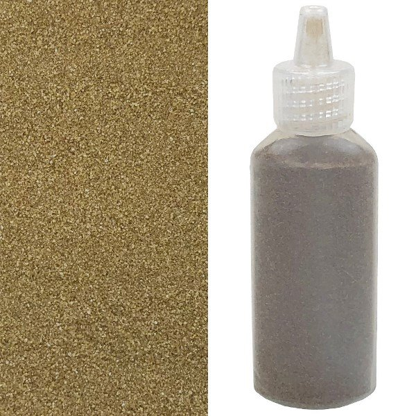Craft and Terrarium Decorative  Colored Sand 1.25oz Cedar Brown