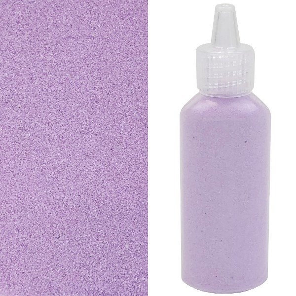Craft and Terrarium Decorative  Colored Sand 1.25oz Lilac