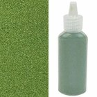 Craft and Terrarium Decorative  Colored Sand 1.25oz Olive
