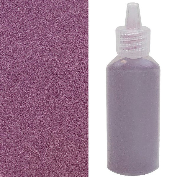 Craft and Terrarium Decorative  Colored Sand 1.25oz Orchid Purple