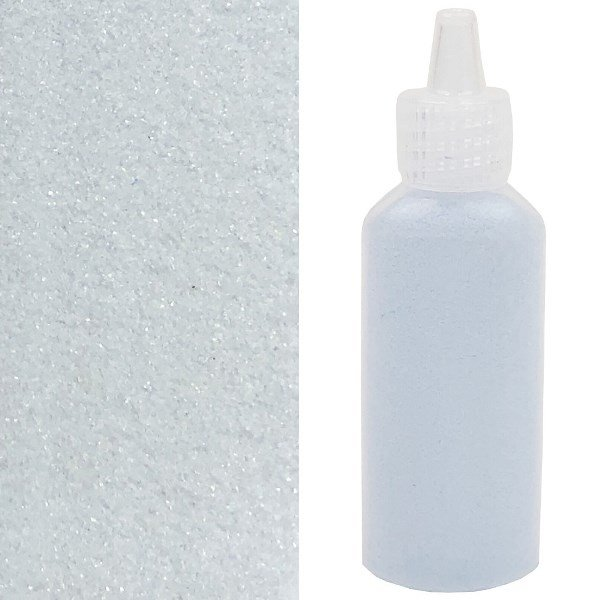 Craft and Terrarium Decorative  Colored Sand 1.25oz Steel Blue