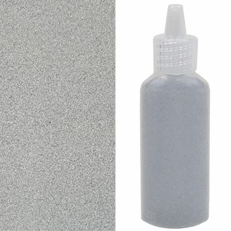 Craft and Terrarium Decorative  Colored Sand 1.25oz Stone Grey
