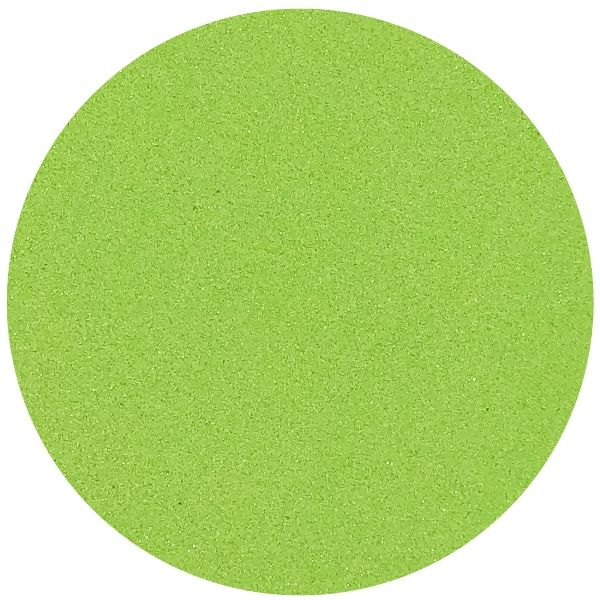 Craft and Terrarium Decorative Colored Sand 1lb Key Lime