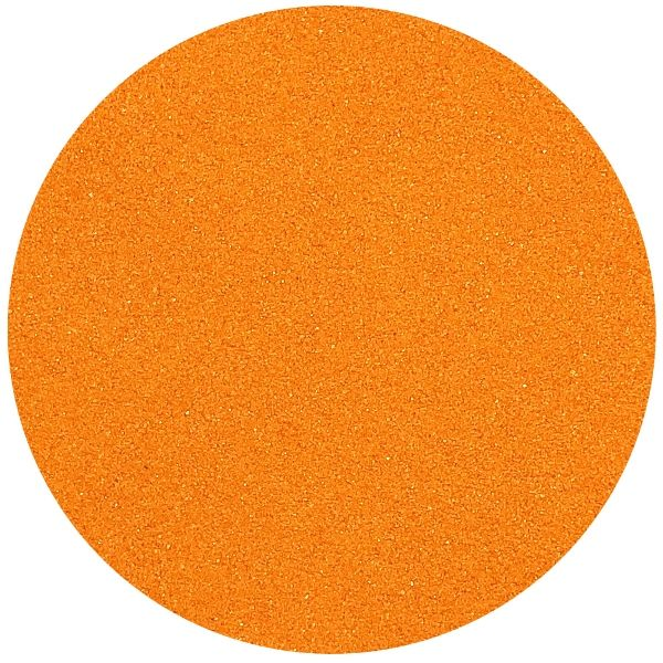 Craft and Terrarium Decorative Colored Sand 1lb Orange