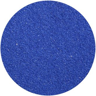 Craft and Terrarium Decorative Colored Sand 1lb Royal Blue