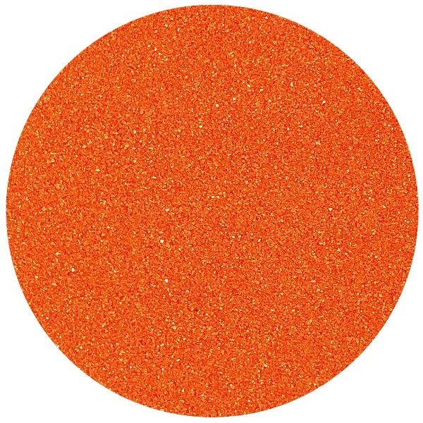Craft and Terrarium Decorative Colored Sand 1lb Tangerine