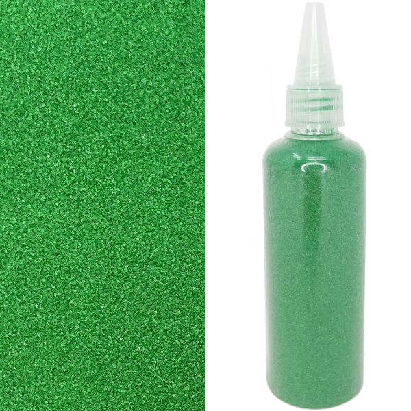 Craft and Terrarium Decorative Colored Sand 6.7oz Kelly Green