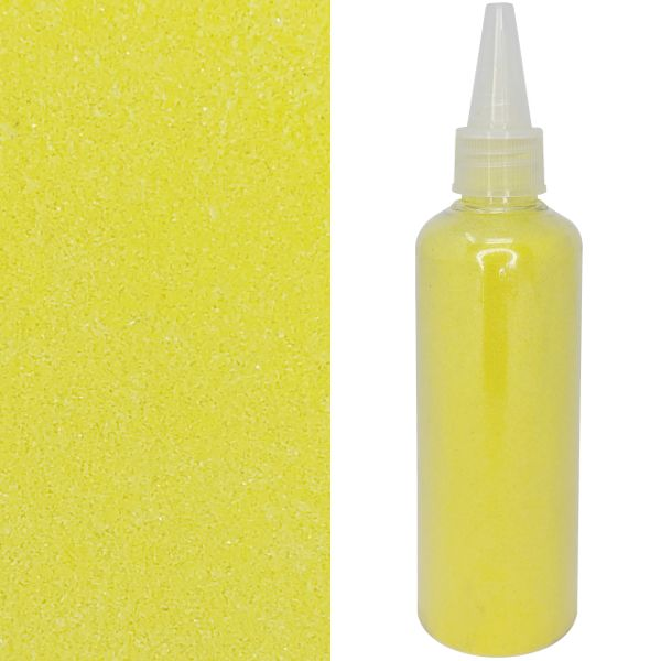 Craft and Terrarium Decorative Colored Sand 6.7oz Sunshine Yellow