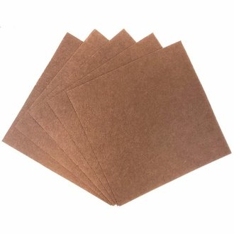 Craft Felt Sheets 25pcs Non Woven  12 x 12in Chocolate