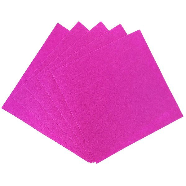 Craft Felt Sheets 25pcs Non Woven  12 x 12in Magenta