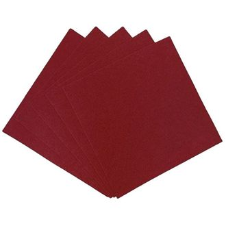 Craft Felt Sheets 25pcs Non Woven 12 X 12in Maroon