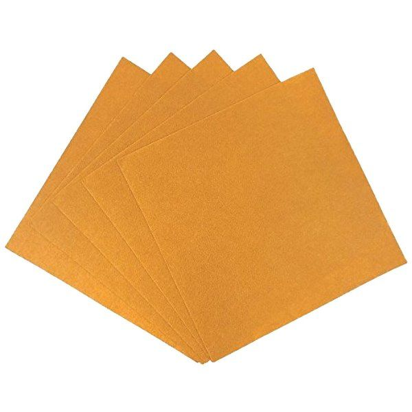 Craft Felt Sheets 25pcs Non Woven 12 X 12in Mustard Yellow