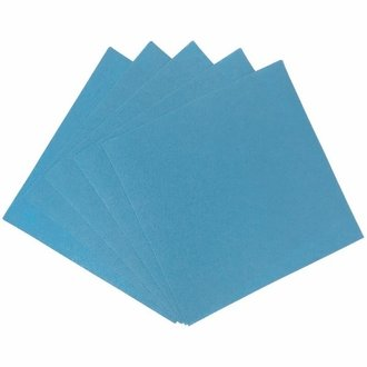 Craft Felt Sheets 25pcs Non Woven  12 x 12in Powder Blue