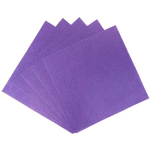 Craft Felt Sheets 25pcs Non Woven  12 x 12in Purple