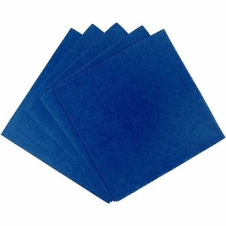 Craft Felt Sheets 25pcs Non Woven  12 x 12in Royal Blue