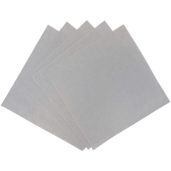 Craft Felt Sheets 25pcs Non Woven  12 x 12in Stone Grey