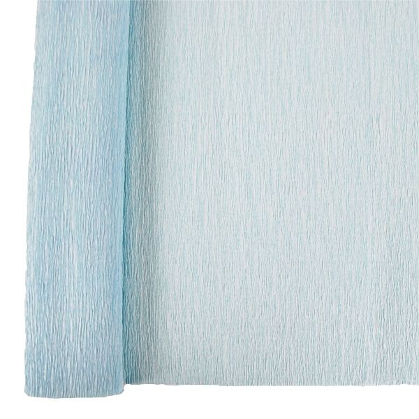 Crepe Paper Roll 20in Baby Blue 90g