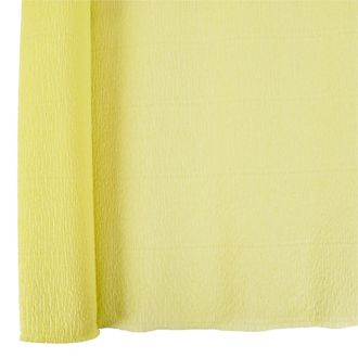 Crepe Paper Roll 20in Banana Yellow 90g