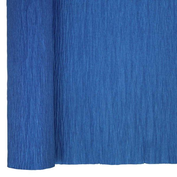 Crepe Paper Roll 20in Blue 70g