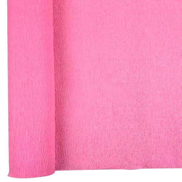 Crepe Paper Roll 20in Bubblegum Pink 90g