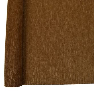 Crepe Paper Roll 20in Chocolate 90g