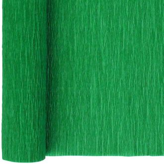 Crepe Paper Roll 20in Emerald Green 90g