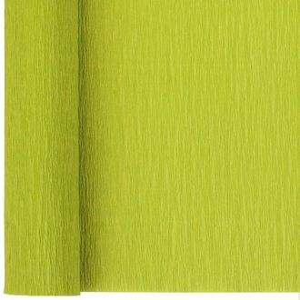 Crepe Paper Roll 20in Green Apple