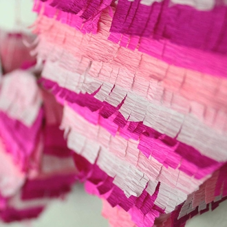 Crepe Paper Roll 20in Hot Pink