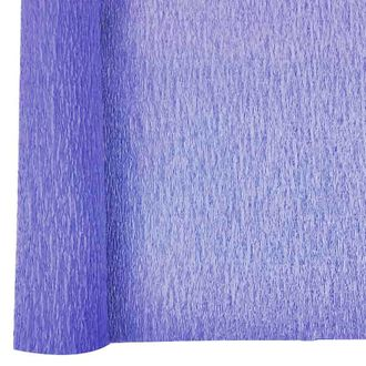 Crepe Paper Roll 20in Iris Purple 90g