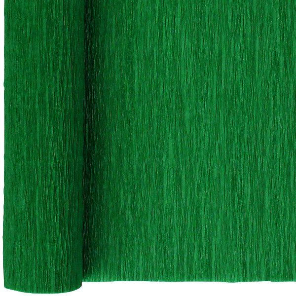 Crepe Paper Roll 20in Kelly Green 90g