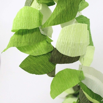 Crepe Paper Roll 20in Key Lime 70g