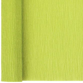 Crepe Paper Roll 20in Key Lime 90g